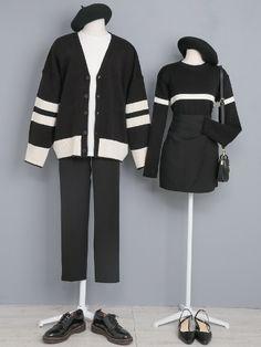 Friend Outfits, Kpop Outfits, Girl Outfits, Cute Outfits, Fashion Outfits, Korea Fashion, Kpop Fashion, Asian Fashion, Girl Fashion