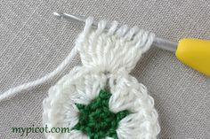 Motifli Kar Tanesi Bebek Battaniyesi Yapılışı