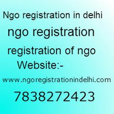 Its variety of providings extend Ngo registration in Delhi, Trust registration, Society Registration, Area 25 Companies Act Registration Under 1956 Act, FCRA Registration of Ngos. http://learningcentral.org.uk/w/doku.php?id=Ngo_registration