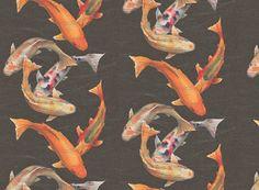 Look for Less: Koi Wallpaper