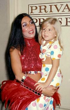 Cher and daughter, Chastity Bono, have fun at the circus.