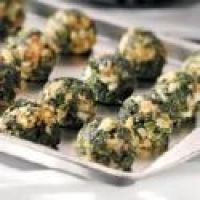 Spinach Balls With Mustard Sauce Recipe