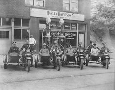 FIRST HARLEY DAVIDSON DEALERSHIP OPENS (in Donora, Pennsylvania, 1920)