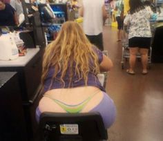 Meanwhile In Wal-Mart. Attention WalMart Shoppers, get your cell phone cameras ready for the crack shots you might sight in our various departments, riding carts, or cheekily hanging out. Thongs are flashing, unseemly marks are stinking. You can pinterest your pic, or Instagram or tumbler under humor because they wanted you to see it!  Full MooNs, 1/4 moons  they're flashing!!