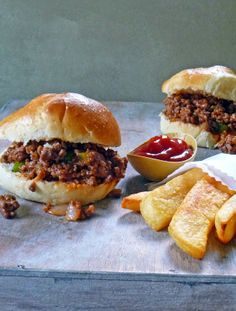 Homemade Sloppy Joe Sandwich | by Life Tastes Good is easy to make and will knock your socks off! You'll never buy canned Sloppy Joe's again...