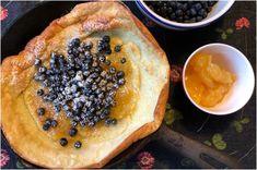 Dutch pancake – recept på holländsk pannkaka | Aftonbladet Dutch Pancakes, Tuna Melts, Eat Breakfast, Hot, Recipies, Brunch, Food And Drink, Ethnic Recipes, Desserts