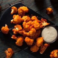 A vegan take on classic game day buffalo wings.  Serve alongside your favourite dip!