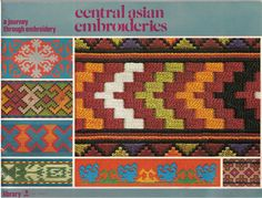 Central Asian Embroideries: A Journey Through Embroidery | DMC