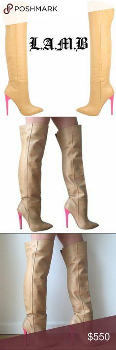 L.a m.b high boots/NEW NEW HIGH HEEL BOOTS L.A.M.B. Shoes