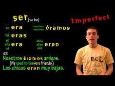 El imperfecto : irregulares