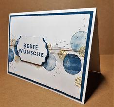 Grußkarte für einen Mann mit Produkten von Stampin up www.stempeltierchen-leipzig.blogspot.de Stempelset Vielseitige Grüße