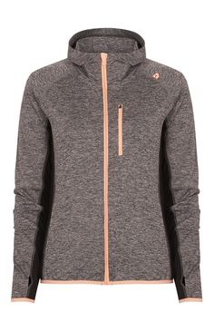 Grey Panel Zip Through Active Jacket Primark, Sport Outfits, Cool Outfits, Gym Style, Sport Wear, Look Cool, Sports Women, Well Dressed, Fit Women