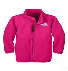 North Face Denali Toddler AZEG-XB3 Razzle Pink Jacket Baby Girls Size 0-3M