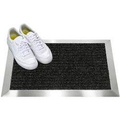 Fußmatte Welcome Matte für den Hauseingang Türmatte im Landhausstil Gummimatte