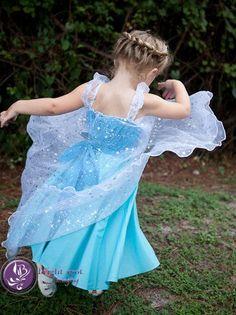 9a5d27c79e320a Elsa Kleid Prinzessinkleid Frozen Birthday von loverdoversclothin ...  #birthday #frozen #kleid