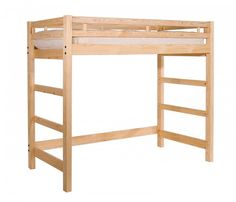 Best Celeste 4Ft 6 Double Heavy Duty Solid Pine High Sleeper 400 x 300