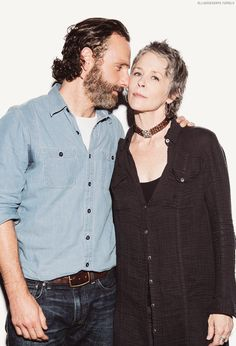 Andrew Lincoln & Melissa McBride, San Diego Comic Con 2014 By Cherie Roberts