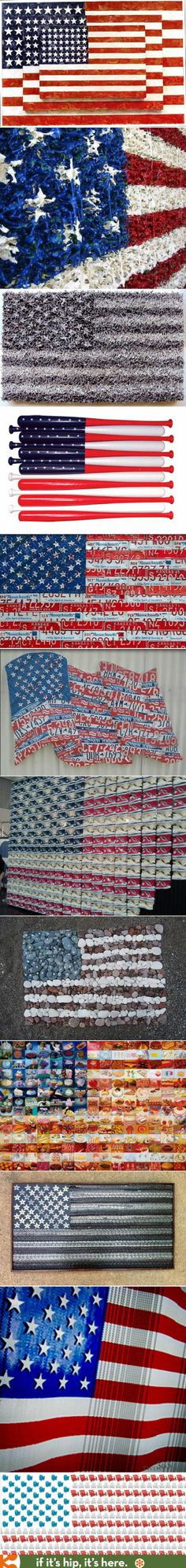 Awesome Artistic Interpretations of the American Flag.