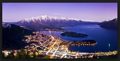 Queenstown New Zealand Accommodation: Book you Queenstown Hotel, Motel or Backpacker Accommodation online instantly with Holidays Queenstown NZ. Oh The Places You'll Go, Places To Travel, Travel Destinations, Places To Visit, Queenstown Hotel, Queenstown New Zealand, New Zealand Holidays, Lake Wakatipu, Visit New Zealand