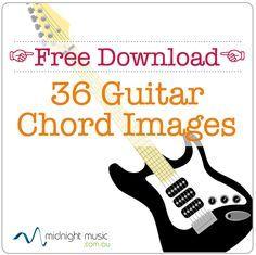 Free download 36 guitar chord images