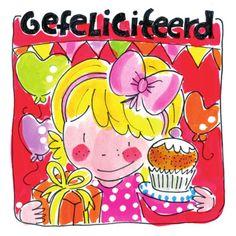 hartelijk gefeliciteerd blond amsterdam