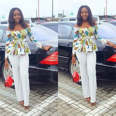 Ever come across those wonderful trending Ankara styles? Do you follow the latest fashion trends in Nigeria? One thing is certain, and that is Nigerian prints are really refined and artistic in designs and styles.After you have seen pictures below, you would be convinced that Nigerian prints are among the best in the world. Here are some of the most fashionable Ankara trousers and top styles.