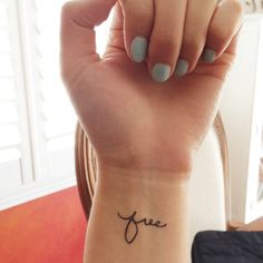 Pretty Temporary Tattoos (Spirit Ink). Good reminders for various times in life!
