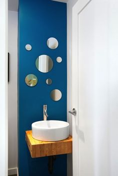 Modern, Green Renovation Vancouver - contemporary - powder room - vancouver - by Marken Projects Design + Consulting