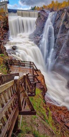 Steps to the Seven Falls, Colorado Springs Colorado USA