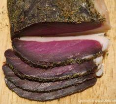 SANS GLUTEN SANS LACTOSE: Magret de canard séché sans gluten et sans lactose