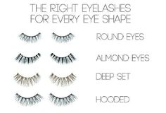 For those who wear false eyelashes & would like to avoid critical selection mistakes.