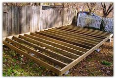 Where to begin with building a outdoor shed foundation.