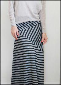 Pretty Ditty: Stripe Play Maxi Skirt