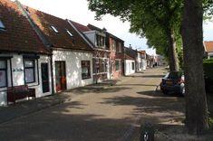 Colijnsplaat in the Netherlands village road