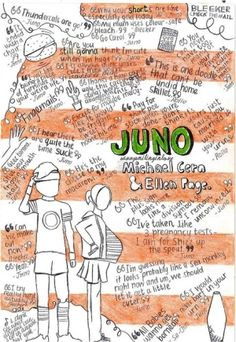 Juno , I like this movie too much- I was I'll that day, mentally drained and so depressed I was on the verge of crying, and 'feeling the results of smoking' but I was happy because I was with someone who means the world to me Juno Quotes, Love Movie, Movie Tv, Movies Showing, Movies And Tv Shows, Favorite Movie Quotes, Music Theater, About Time Movie, Moving Pictures