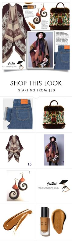 """JetSet shop!"" by samra-bv ❤ liked on Polyvore featuring PS Paul Smith, Carbotti, Bobbi Brown Cosmetics, Fall, Winter, bag and autumn"