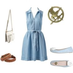 Reaping Day outfit from the Hunger Games