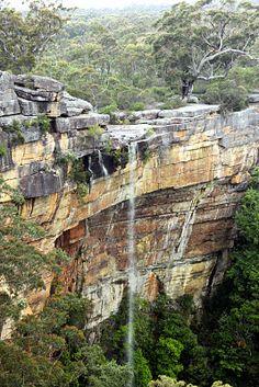 Tianjara Falls on the Nowra- Braidwood road.