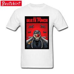1dc0bc3fd1c6 ... shirts men funny by Fashion Men Tees.  8- 12 Skull Pilot Grande Men Cool  Tshirt Five Finger Death Punch Hip Hop Band