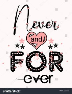 Never Forever Girl Tshirt Design Textile Stok İllüstrasyon 1223938549 Slogan Tshirt, T Shirt Diy, T Shirts With Sayings, Shirts For Girls, Girls Tees, Images Noêl Vintages, Design Textile, T Shirt Painting, Forever Girl