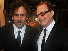 Tim Burton and Danny Elfman--One of my favorite directors and composers (: