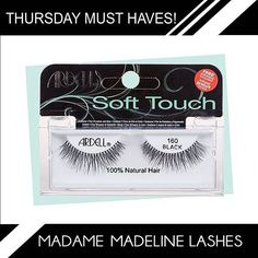 2c3946f5dff Ardell's new Soft Touch #160 Lashes is the newest addition in the Ardell  Soft Touch