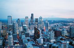 Downtown Seattle | Washington (by porkchopsandy)