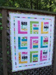 Cute quilt - love the pattern!