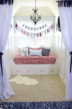 Little Girls Bedding #beddysdreamroom