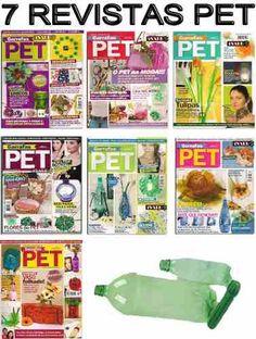 6 Revistas Garrafas Pet Reciclagem Artesanato Ganhe Dinheiro