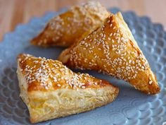 Learn to make bourekas using puff pastry