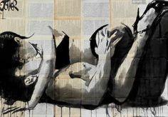 """Saatchi Art Artist Loui Jover; Drawing, """"lust"""" #art:"""