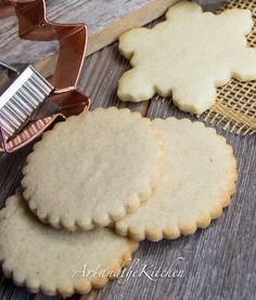 (Canada) Best Ever Sugar Cookies- two great recipes Cardamom Orange or Pumpkin Spice.