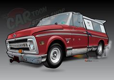 Farm Truck by, The CARtoon Speed Shop